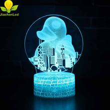 Big Rubber Duck Lovely Gift For Children Bedroom Lamp 3d Model Night Light
