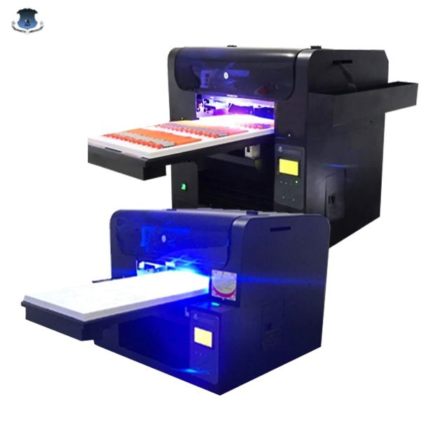 Kleine Glazen Uv Printer Vernis Effect Digitale <span class=keywords><strong>Flatbed</strong></span> Led Uv Printer A3 Size