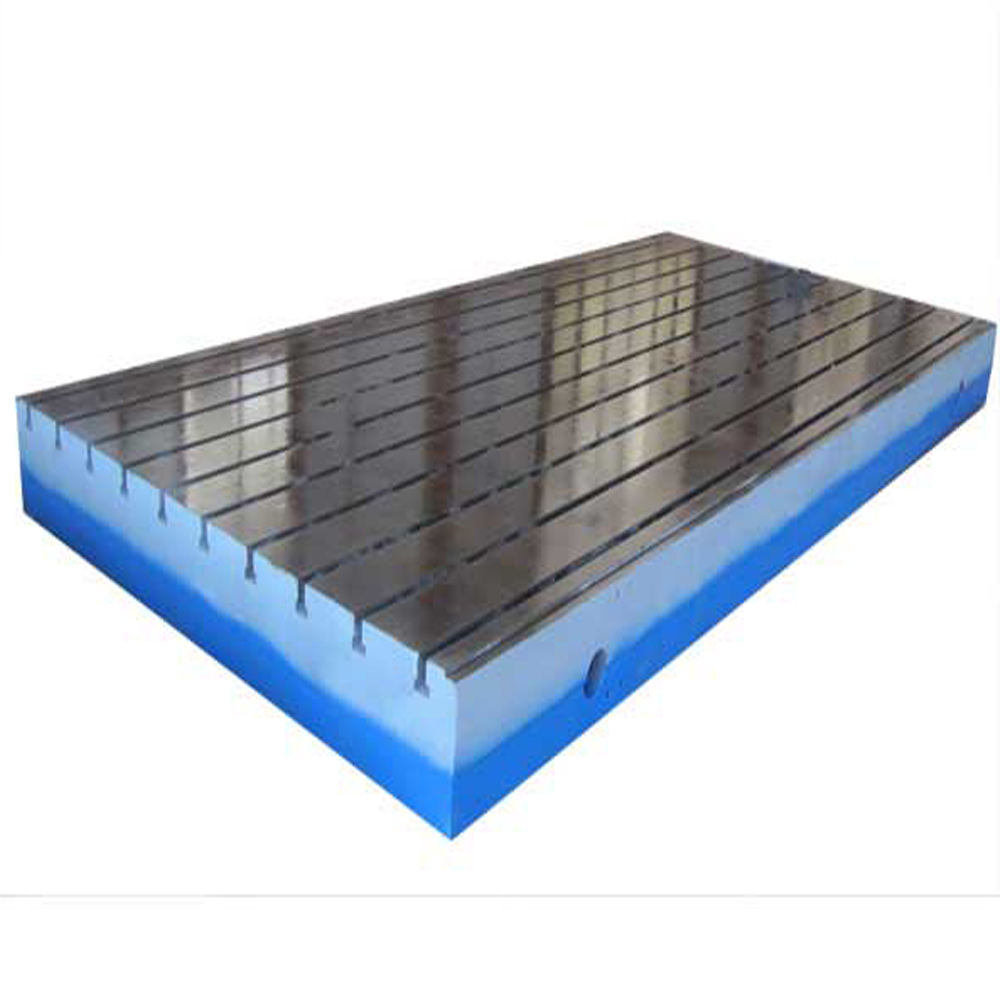 Surface Machining Part T Slots Cast Iron Lapping Plates hot sales surface platform