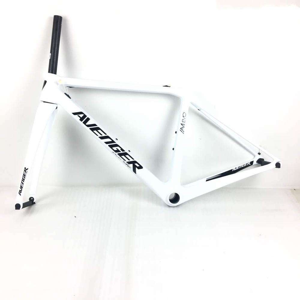 The A4-EVO hongfu bikes super light carbon frame with standard BB86/BSA/PF30
