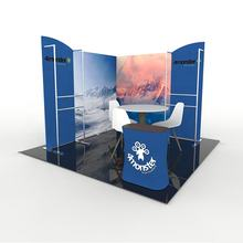 Hot sales portable tradeshow display booth expo 3x3 exhibition booth