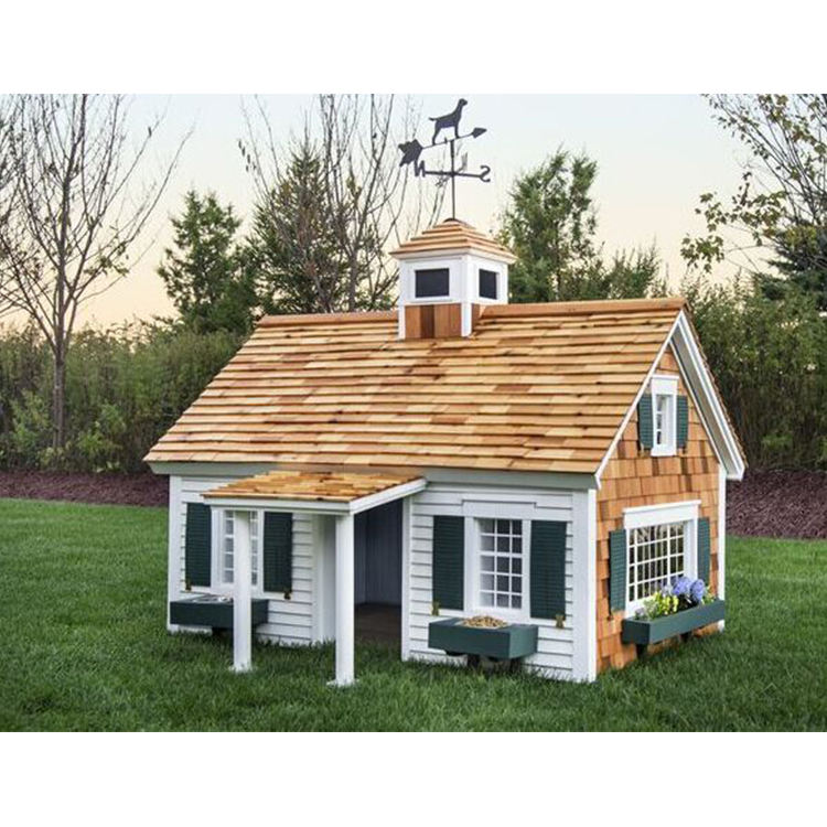 Waterproof prefab garden cheap log house wooden cottage children playhouse