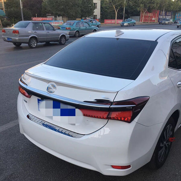Exterior Decoration Rear Wing Spoiler for corolla