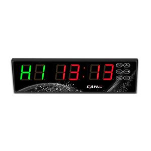 Ganxin Cina Pemasok Remote Control Gym LED Interval Timer LED Gym Timer