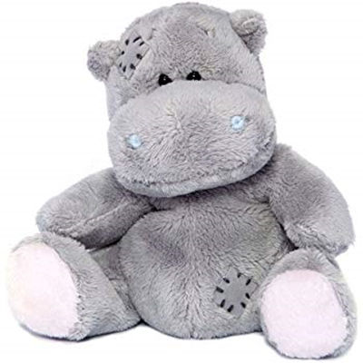 40cm grey color sitting stuffed hippo soft toy gifts
