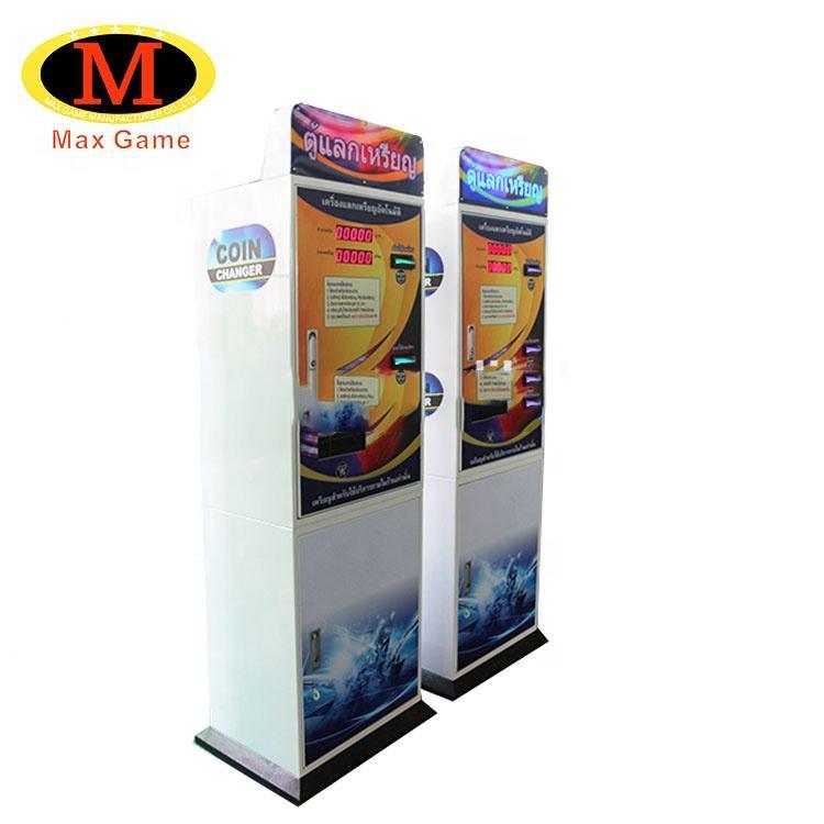 Hot vender máquina de troca de dinheiro símbolo trocador de troca de moeda máquina de venda automática