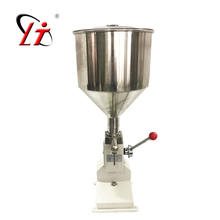 Hot sale A03  Manual cream filling machine for tubes bags bottles liquid paste filler