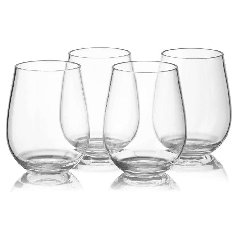 promotional gifts maximize enjoyment perfect fit western drinking tritan 14oz 16oz custom stemless wine glass