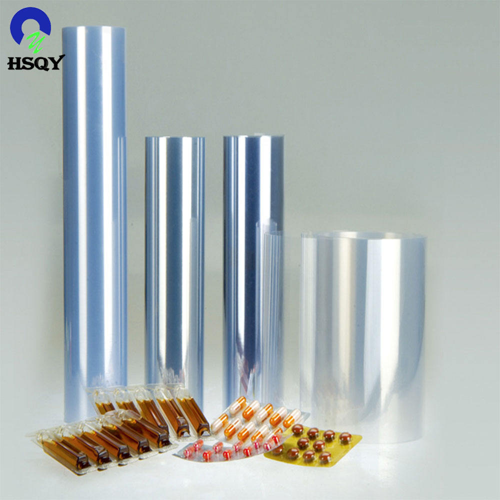 Rigid Transparent PVC 0.35mm for Pharmaceutical Film