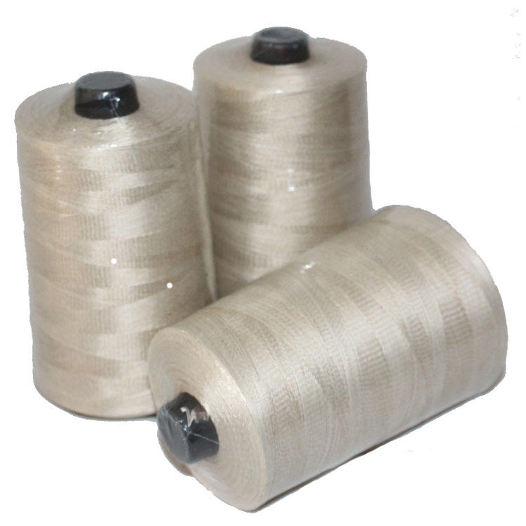 spot supplier 0.25mm fire resistant fiberglass screen resistance 1kg/roll PTFE coated glass fiber sewing thread