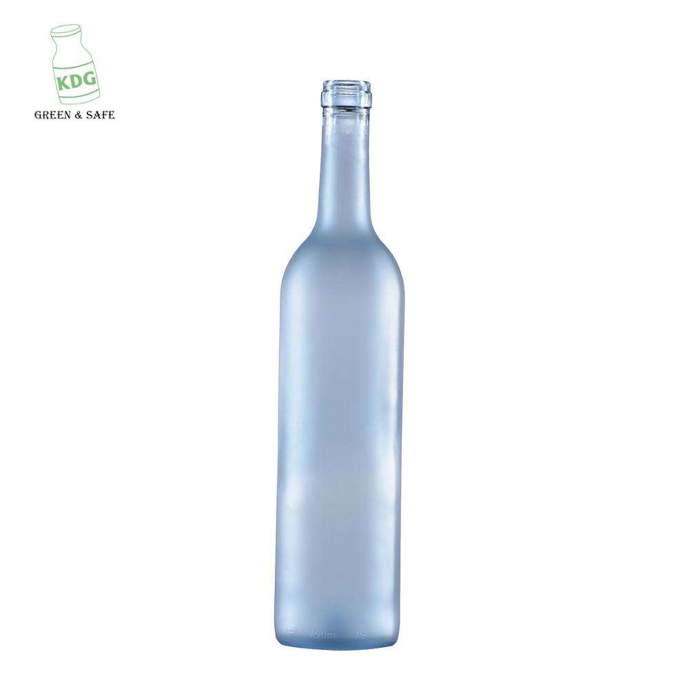 750 ml 젖 빛 Wine 병 와 코르크 Finish Factory Directly \ % Sale