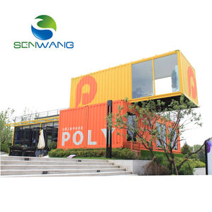 Luxe 20ft 0r 40ft Container Woningen Prefab Container Huis