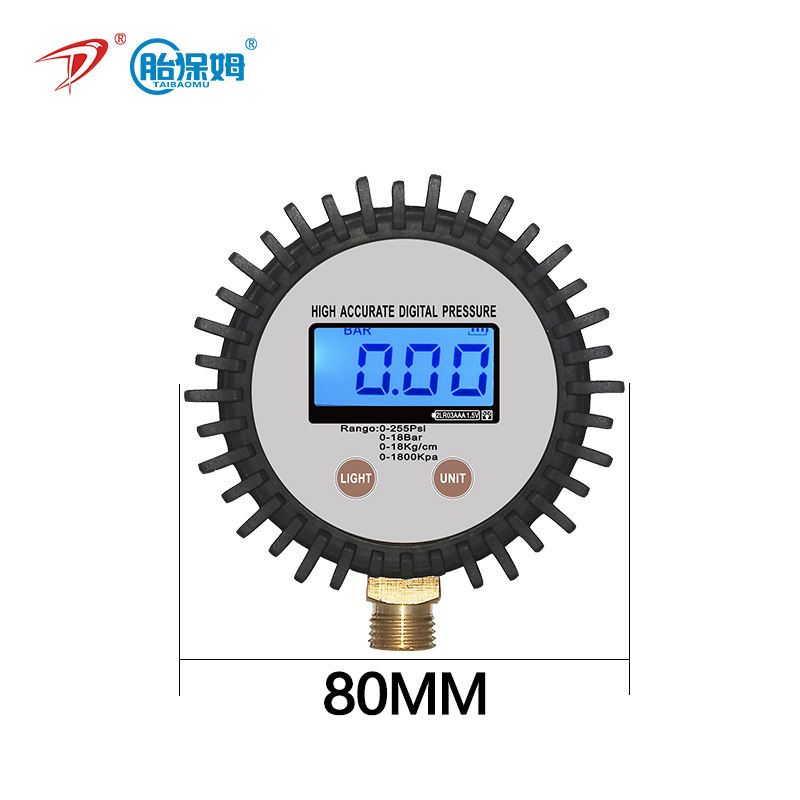 digital pressure gauge Pressure meter Manometer 220Psi 15Bar 1800Kpa 15kg/cm2 Manufacturer