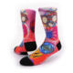 Low MOQ 2019 New Arrivals Custom Your Own Polyester crew 360 digital print socks