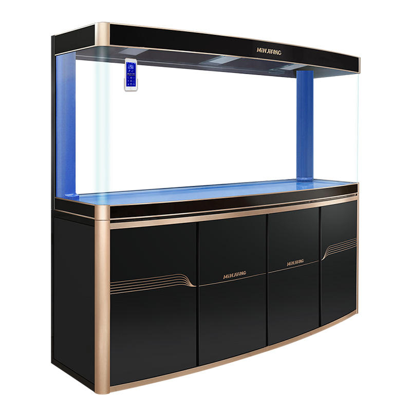 Minjiang Home Decor aquarium LED lighting fish arming tank