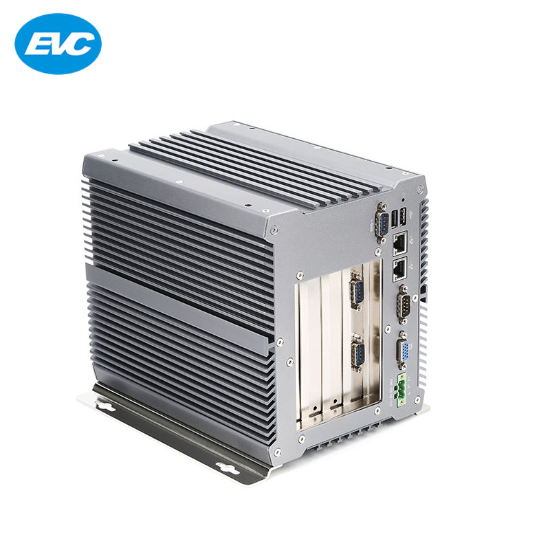 Nuevo diseño 4 <span class=keywords><strong>PCI</strong></span> DC 9-36 V industrial sin ventilador ordenador con Linux Enterprise OS