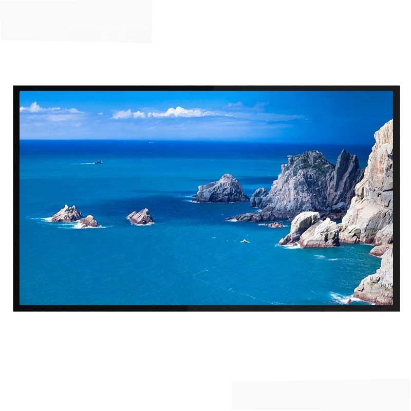 55 inch sunlight readable high brightness outdoor led screen display