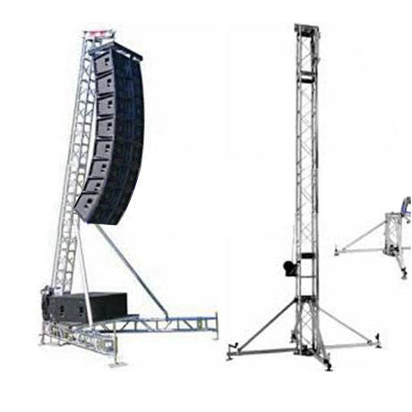 China Aluminum Upright Line Array Speaker Truss Lift Stand