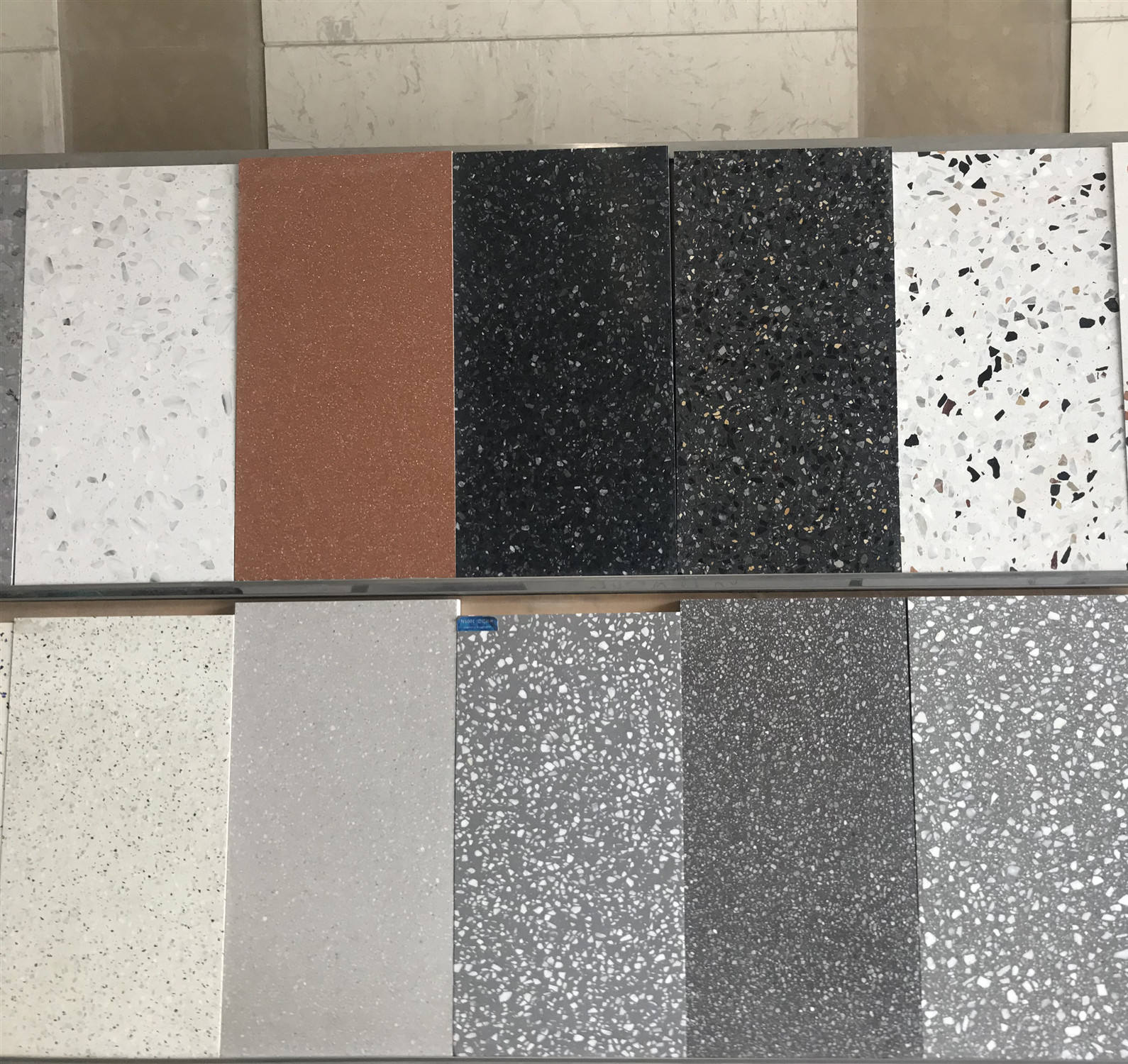 Factory wholesale cheaper 30*30 ceramic porcelain polished tiles floor big size bathroom terrazzo tiles price