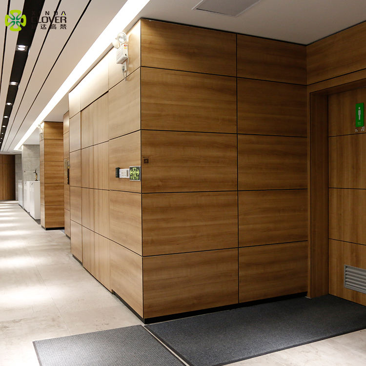 Modern Decorative Wooden Wall Panel For Office