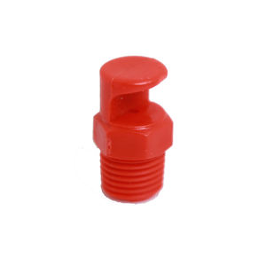 PP plastic water jet spray wide angle flat fan nozzle for cleaning