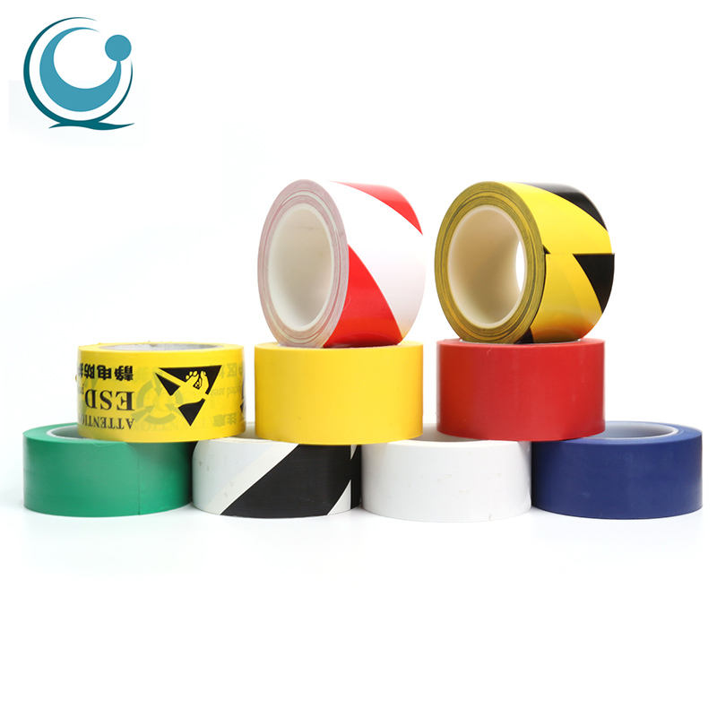 Floor underground caution orange barricade pe warning tape
