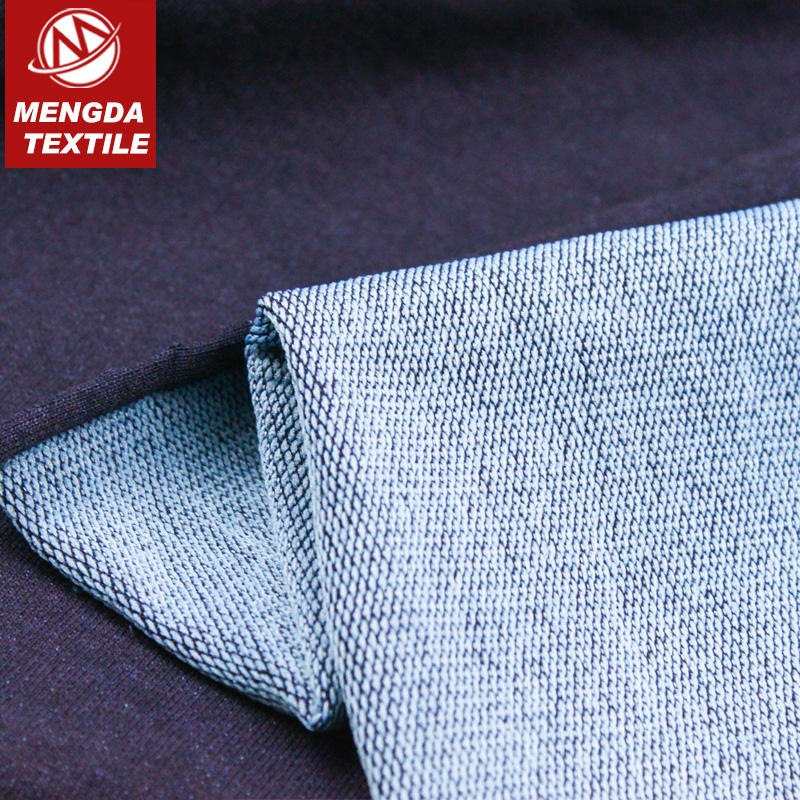 cotton poly knit denim stretch fabric India hot sale 260/300/350/380gsm