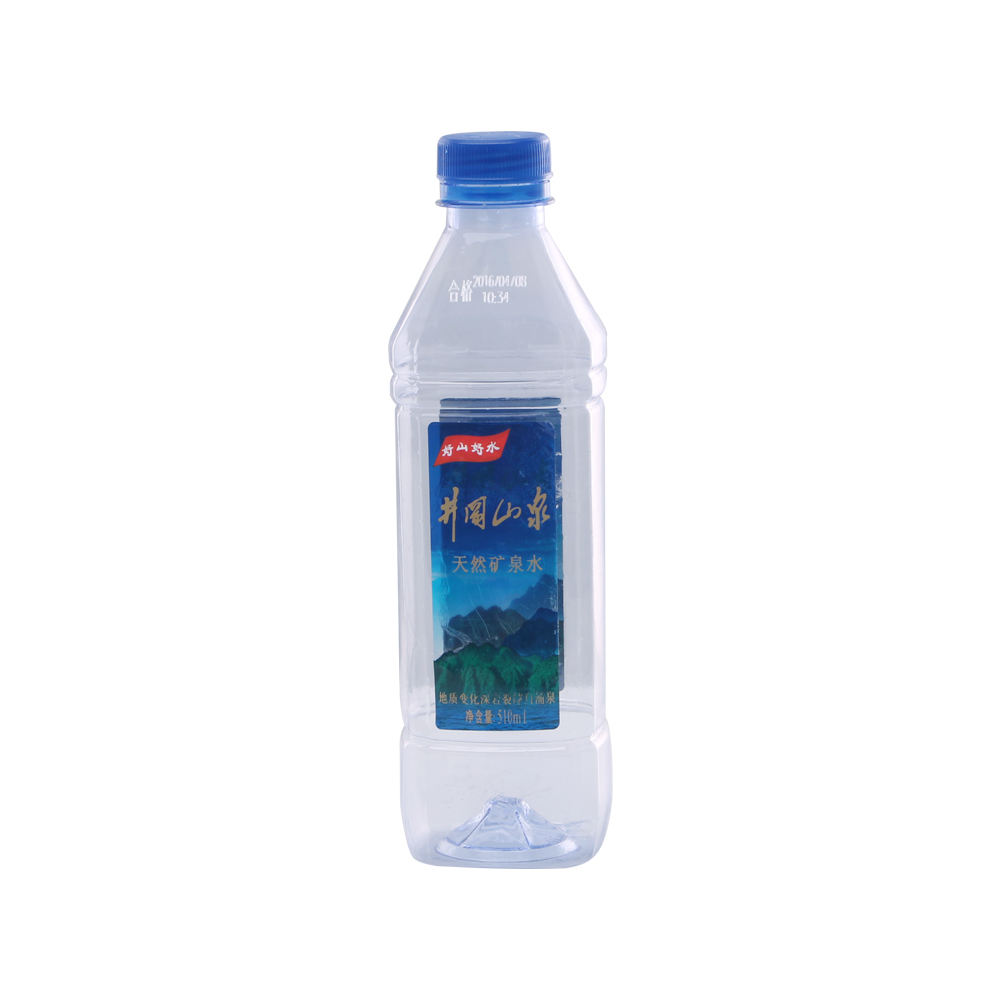 Groothandel Custom 600 ml pet sport plastic waterfles