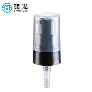 20mm Personal facial care liquid plastic directly supply plastic cream pump dispenser for cosmetics product