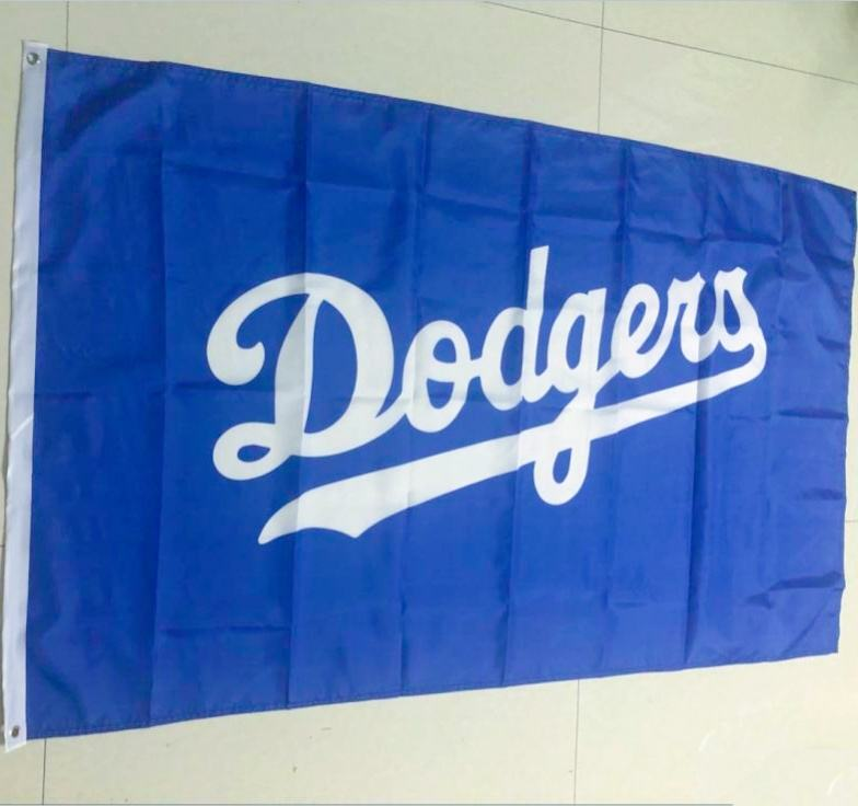 MLB Los Angeles Dodgers Flagge 3x5 Banner/custom 3 LA los angeles dodgers baseball genäht stoff polyester flagge