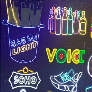 Indoor bar nachtclub decoratieve neon light bewegwijzering bier promoties led neon sign