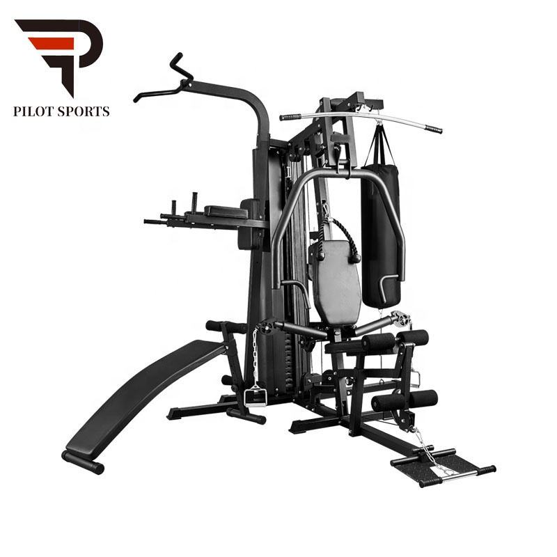 4 station home gym fitness equipment multi station gym