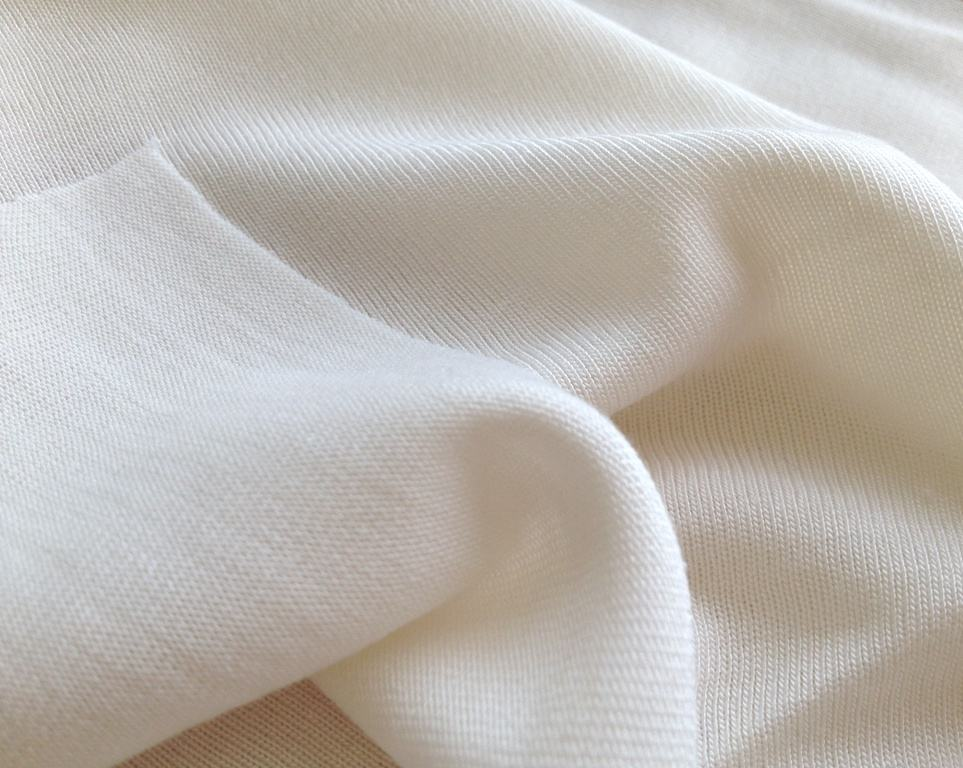 NEW fabric milk fiber jersey fabric, milk fiber blend with bamboo knit jersey fabrics