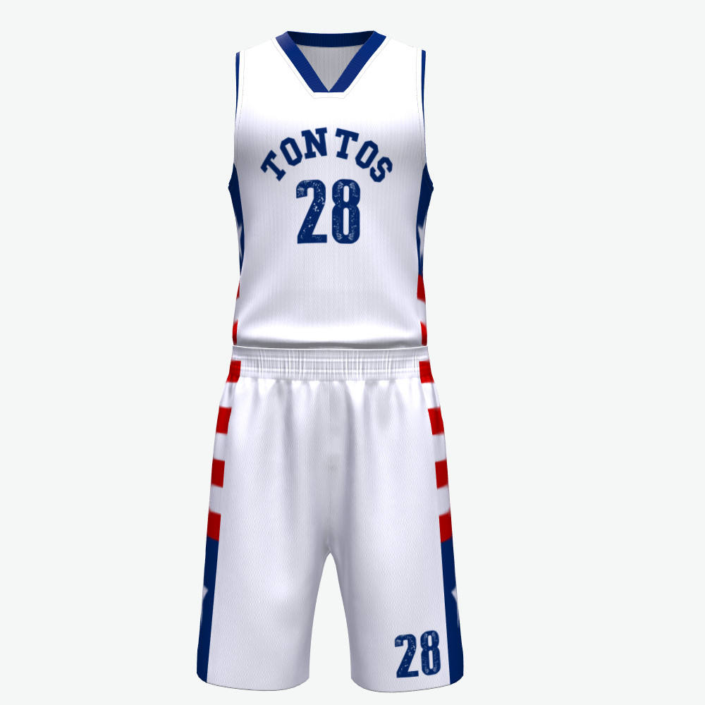 En gros personnalisé d'impression de sublimation de conception uniforme de basket-ball