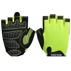 Boodun Weight-lifting bodybuilding half finger  training outdoor sports fitness gloves