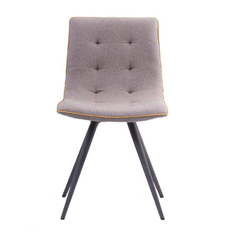 En gros bonne <span class=keywords><strong>qualité</strong></span> mode meubles de salle à manger moderne en métal rembourrée chaise de loisirs