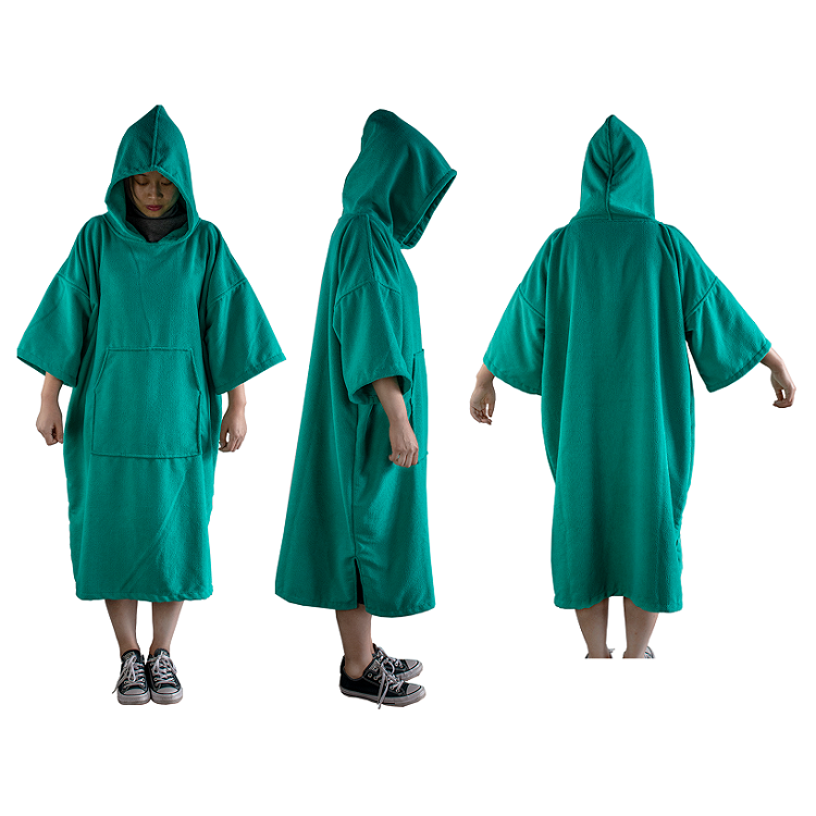 Manufacture Cotton or Microfiber Towel Adult Surf Poncho