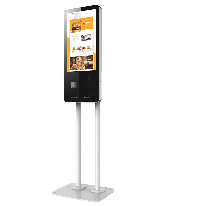MSR & handheld payment terminal 24 inch indoor touch screen kiosk digital signage self service kiosk