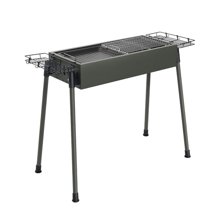 Intere vendite In acciaio Inox per Esterni del Carbone di legna barbecue Grill barbecue portatile barbecue all'aperto barbecue Fumatore