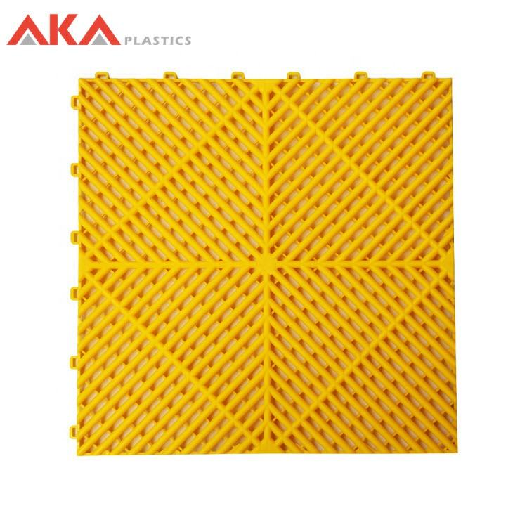 durable ribbed 400mm garage flooring tiles garage floor mat