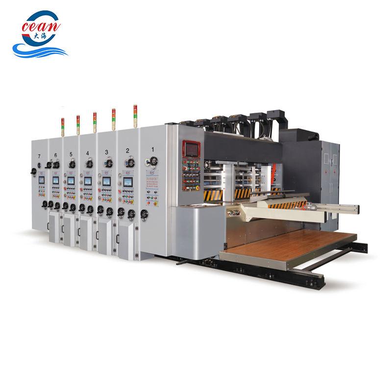 Operación Flexible precio de fábrica de alta velocidad impresora ranuradora