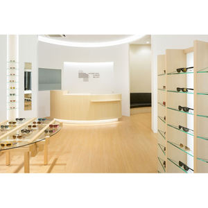 LUX Free Optical Decoration Modern Optical Shop Interior Design Retail For Chain Stores