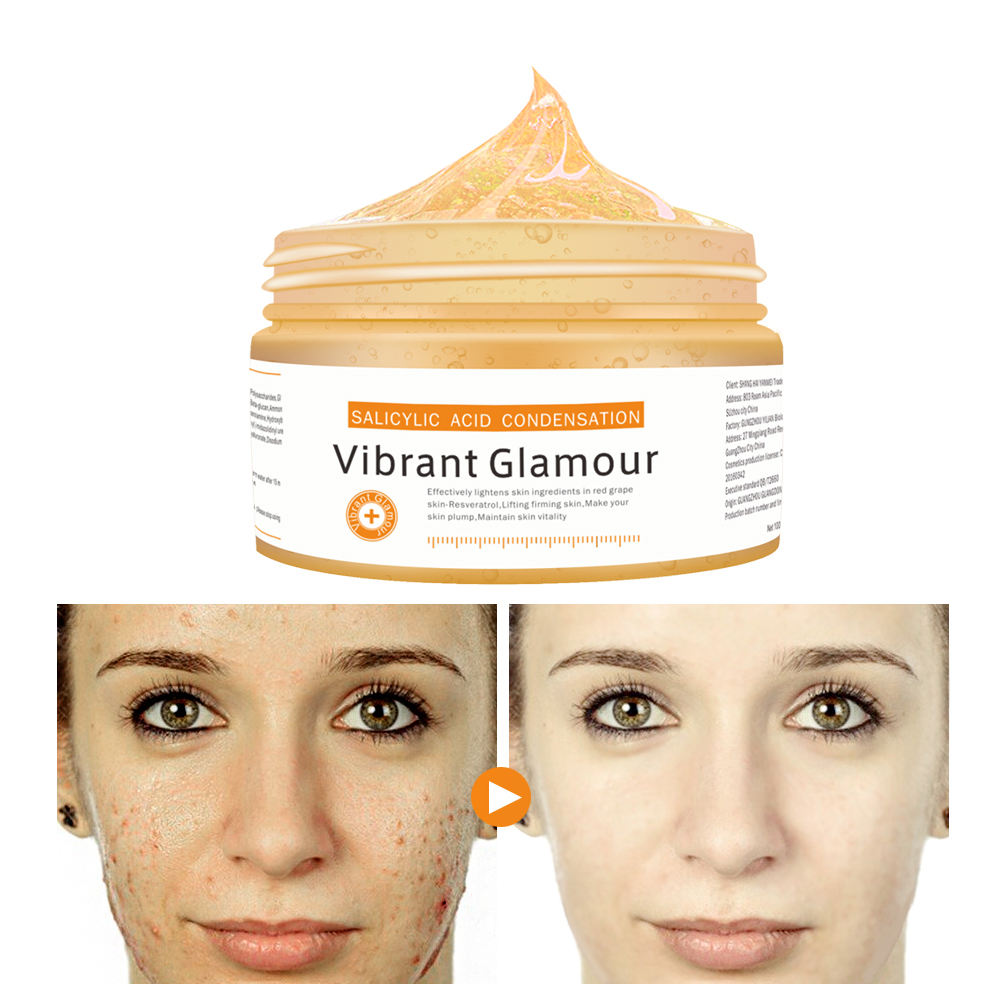 OEM Vibrant Glamour Face cream cleaning whitening mask shrink pores control-oil removing acne Moisturizing Skin care Face cream