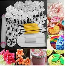 2019 new (46pcs)fondant cake decorating tools / fondant making tools set