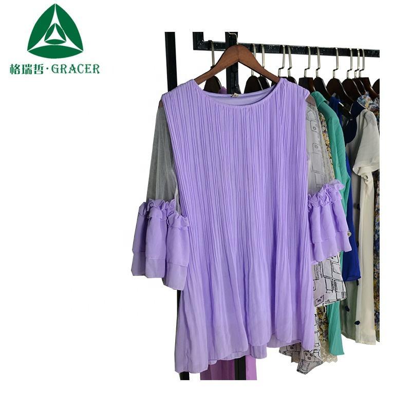 Vêtements d'occasion balles femmes T-shirt vêtements d'occasion afrique du sud utilisé vêtements <span class=keywords><strong>philippines</strong></span>