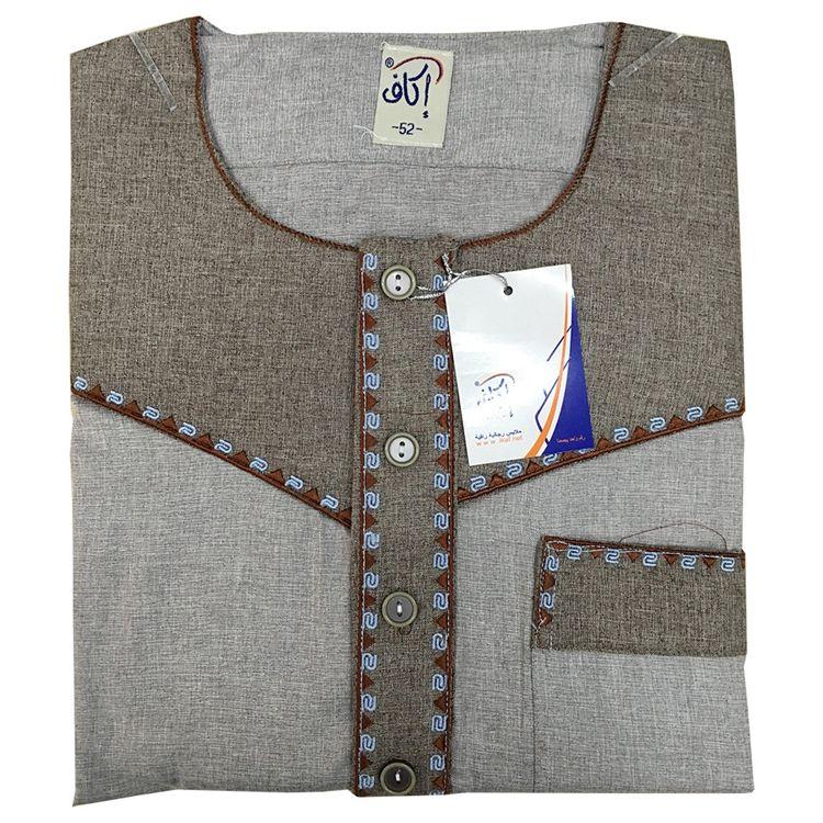 Mejor Precio Simple 6 Color Dubai de algodón y línea Kaftan Thobe hombres
