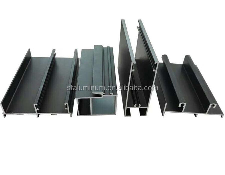 Anodize 6063 T5 china supplier aluminum profile for window