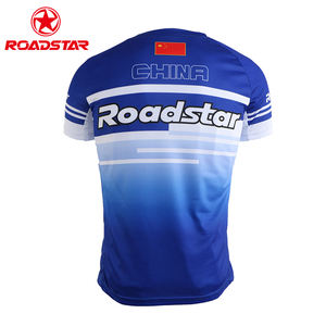 Custom China manufacturer short sleeve dry fit sports sublimation printing tshirts