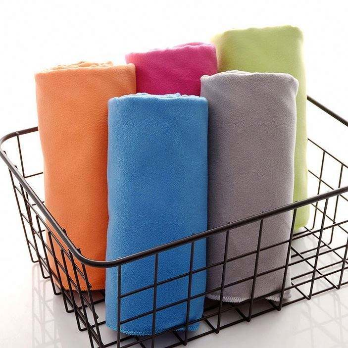 Absorbent Soft Portable Quick Drying Guangzhou Gym Sport Travel Towel Microfiber
