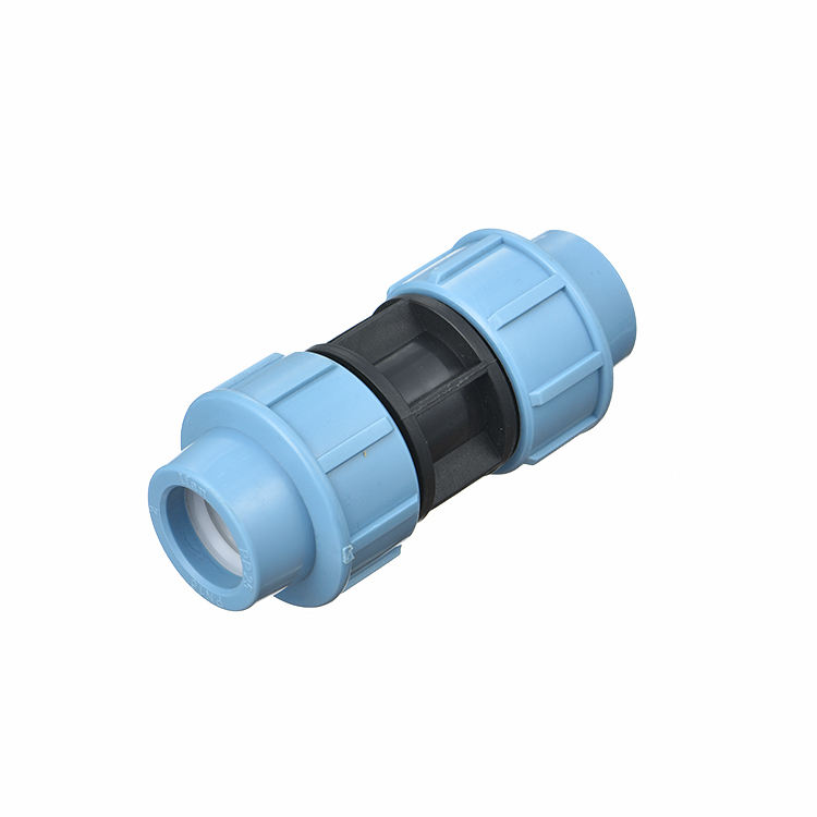 Hdpe material black/grey hdpe socket coupling 25 for water distribution,industry,irrigation coupling